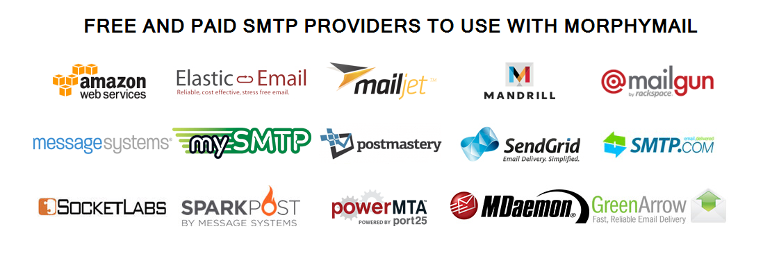 Buy SMTP Server | MorphyMail - 100% Free Email Marketing